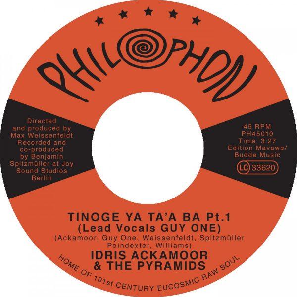 Tinoge Ya Taa Ba Pt 1 2 (feat Guy One) - Idris Ackamoor The Pyramids