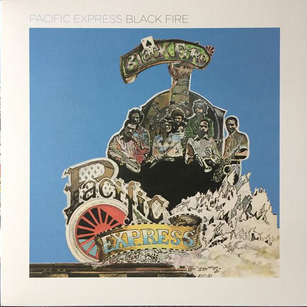 Pacific Express - Black Fire (LP, Album, RE, RM)