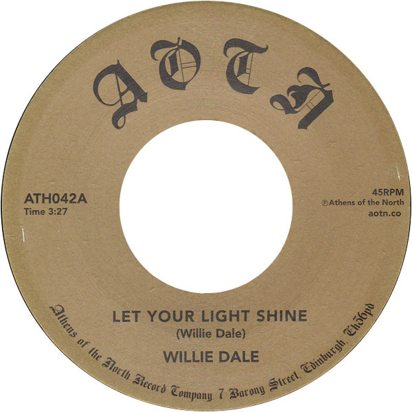 Willie Dale ‎– Let Your Light Shine