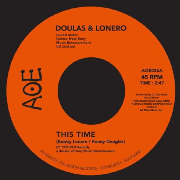 Doulas & Lonero ‎– This Time / Don't Let Yourself Get Carried Away