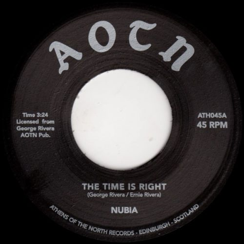 """Nubia - The Time Is Right (7"""", RE)"""