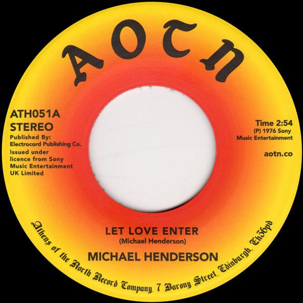 Michael Henderson – Let Love Enter / Come To Me