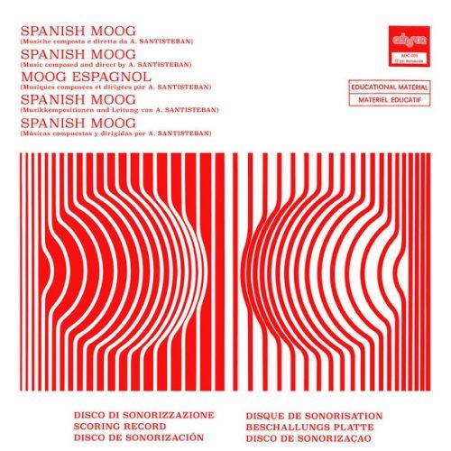 Alfonso Santisteban - Spanish Moog (LP, Mono, Ltd, RE, RM)