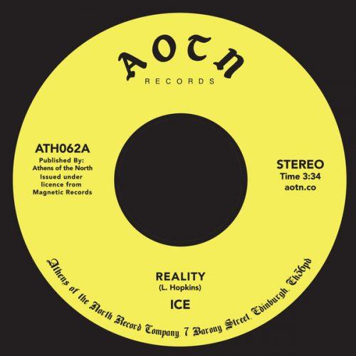 "Ice - Reality / Hey, Hey (7"", RE)"