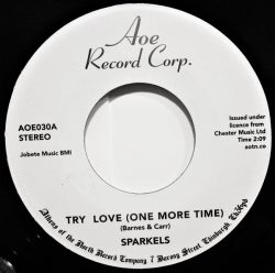 The Sparkels - Try Love (One More Time) / That Boy Of Mine (7
