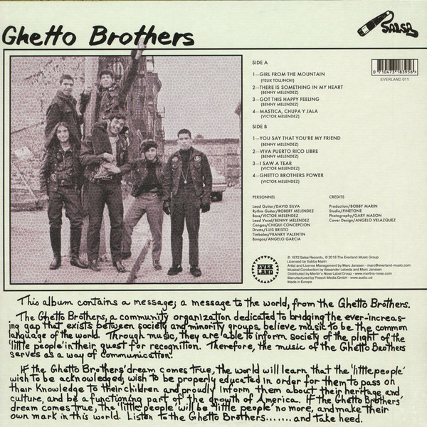 Ghetto Brothers – Power-Fuerza B