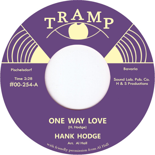 "Hank Hodge - One Way Love / Thank You Girl (7"", Single)"