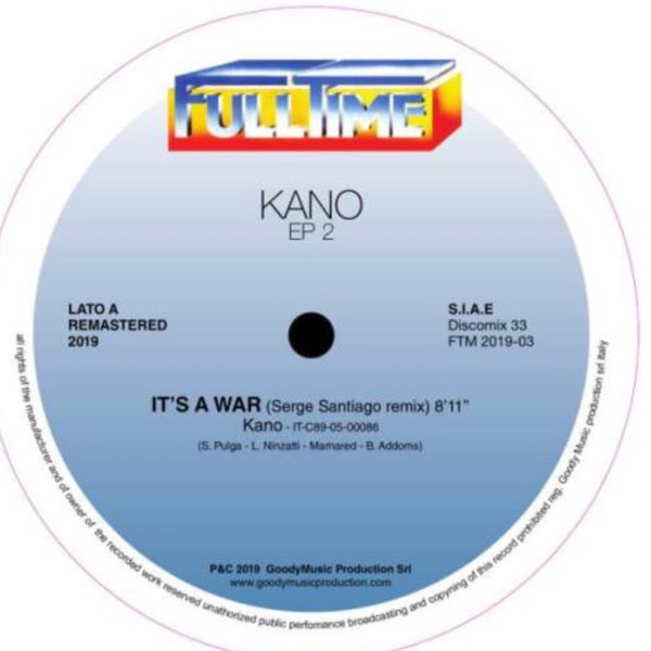 Kano – It's A War / Cosmic Voyager / Now Baby Now