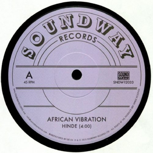 "African Vibration - Hinde (12"")"