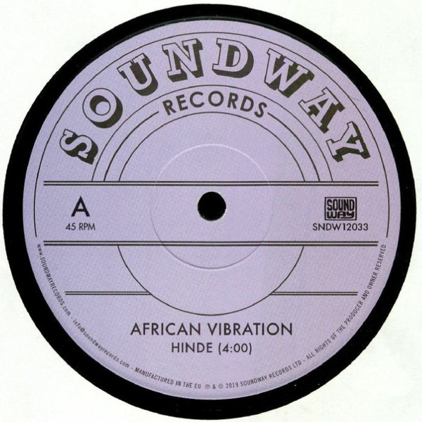"African Vibration - Hinde (12"")"