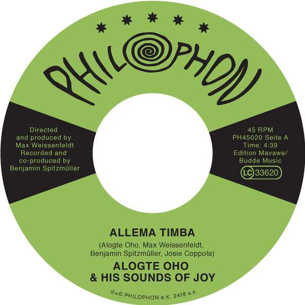 Alogte Oho & His Sounds of Joy – Allema Timba