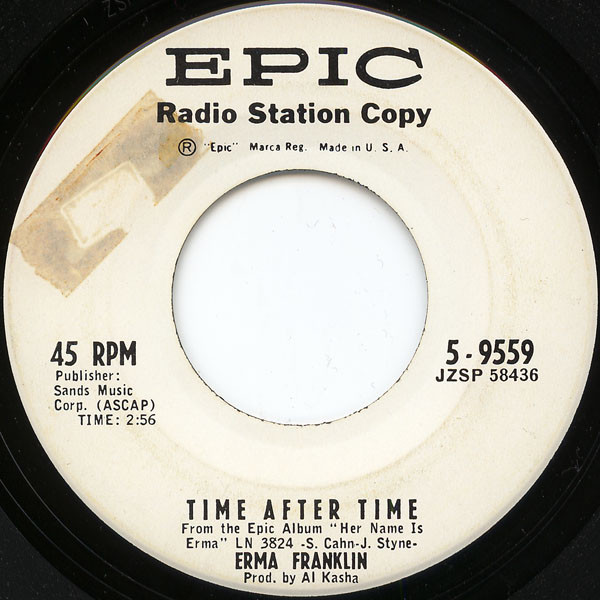Erma Franklin – Time After Time / Don't Wait Too Long