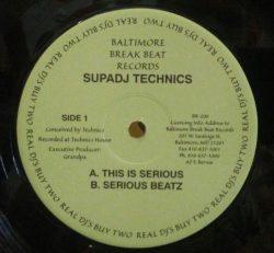 Supa Technics - Serious Beats