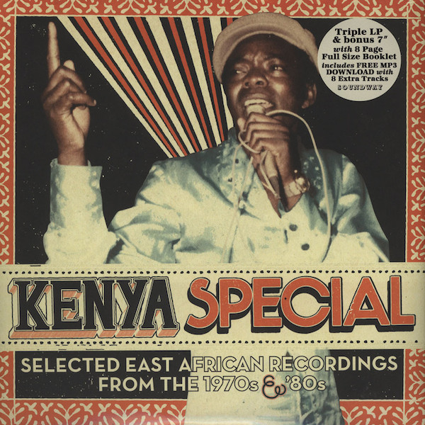 "Various - Kenya Special (Selected East African Recordings From The 1970s & '80s) (3xLP + 7"" + Album, Comp)"
