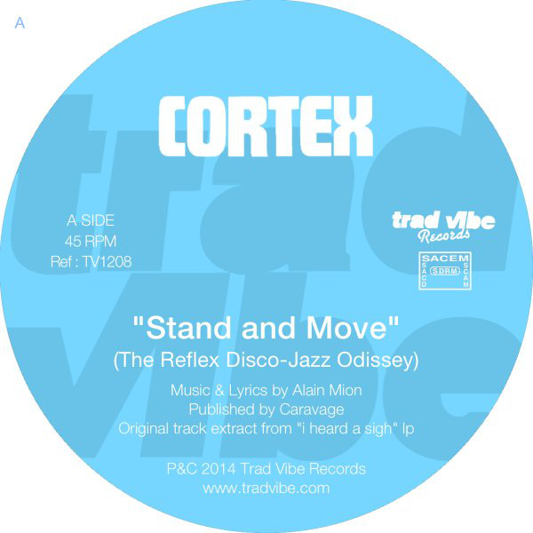 """Cortex - Stand & Move / High On The Funk (12"""")"""