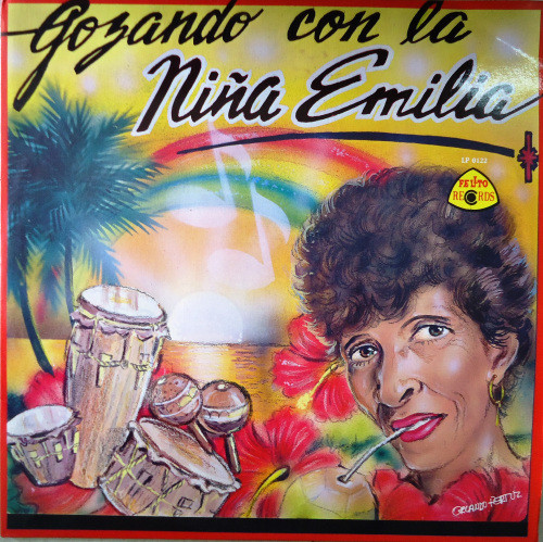 Emilia Herrera, Los Cumbiamberos De Gamero - Gozando con la Niña Emilia (LP, Album)