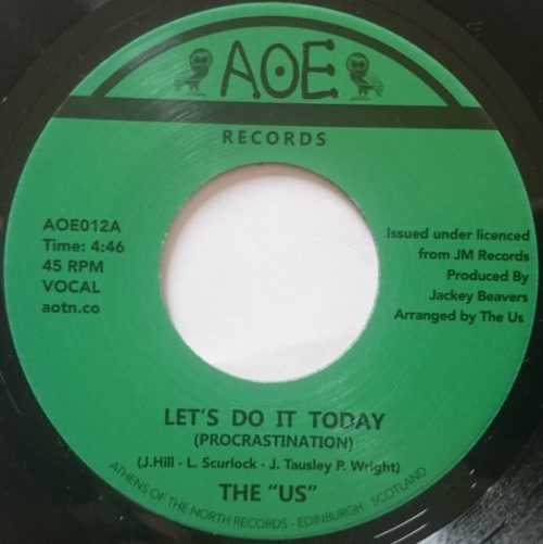 "The ""Us"" ‎– Let's Do It Today (Procrastination)"