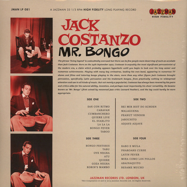 Jack Costanzo - Mr. Bongo Back