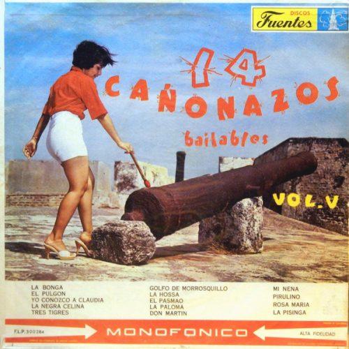 Various - 14 Cañonazos Bailables Vol. V