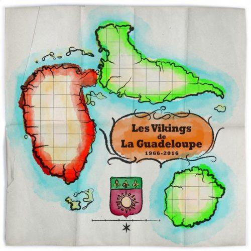 Les Vikings De La Guadeloupe - Best Of Les Vikings De La Guadeloupe 1966-2016 (2xLP, Comp)