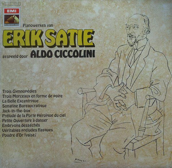 Erik Satie - Aldo Ciccolini - Pianowerken Van Erik Satie Gespeeld Door Aldo Ciccolini