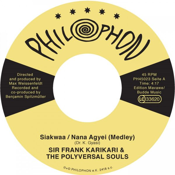 Siakwaa Nana Agyei (Medley) feat Sir Frank Karikari - The Polyversal Souls