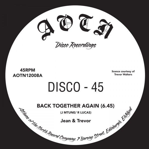 Back Together - Jean Trevor