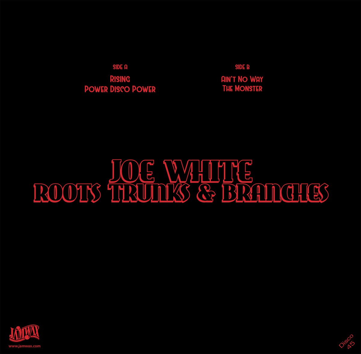 Joe White & Roots Trunks & Branches – Rising / Power Disco Power