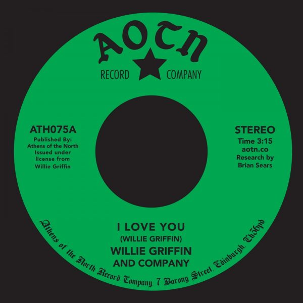 I Love You - Willie Griffin