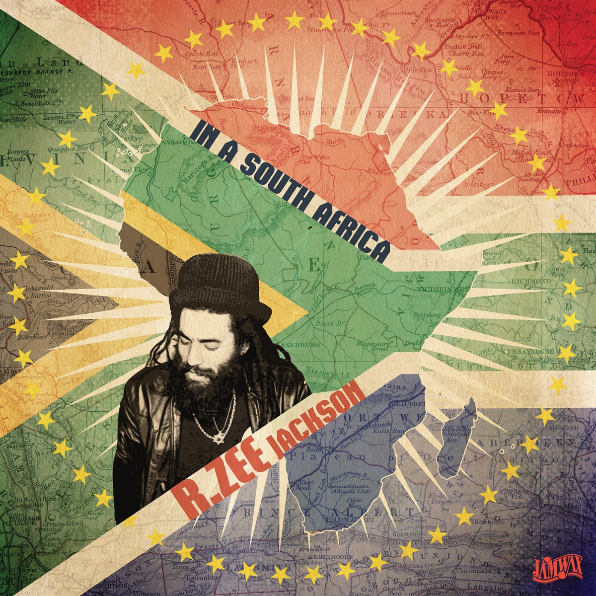R. Zee Jackson ‎– In A South Africa / At The Reggae Party