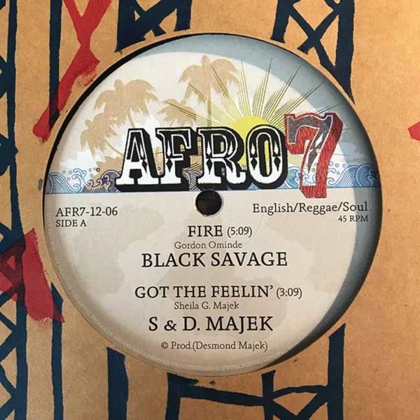 Black Savage, S. Majek & D. Majek, Ovid – CBS EP
