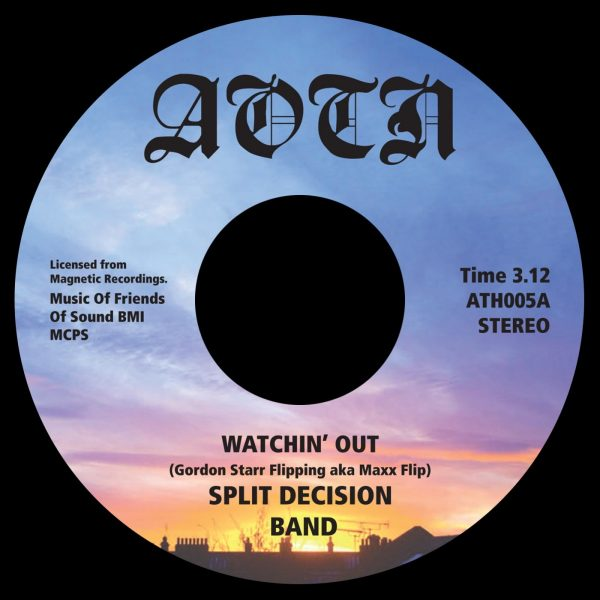 Split Decision Band ‎– Watchin' Out / Dazed