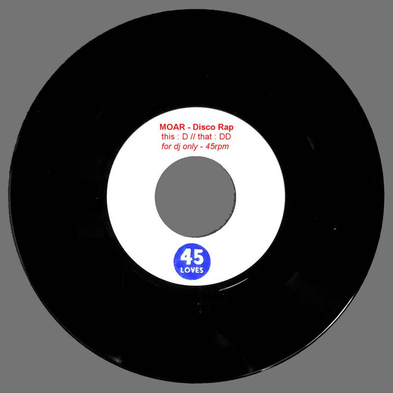 Moar – Disco Rap