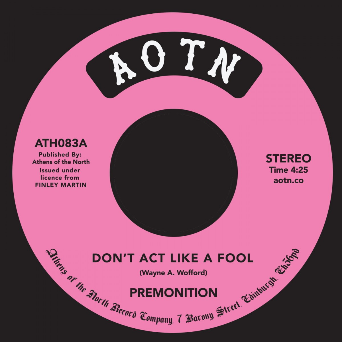 Dont Act Like A Fool - Premonition
