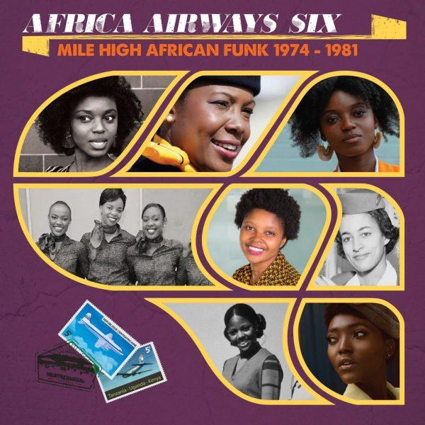 Africa Airways Six (Mile High Funk 1974 - 1981) - Various Artists