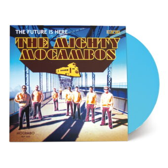 The-Future-Is-Here-surf-blue-colour-vinyl-The-Mighty-Mocambo